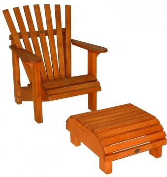 Cape Cod Chair 800mm and Foot Stool 530x630mm - Chair $490 - Foot Stool $210