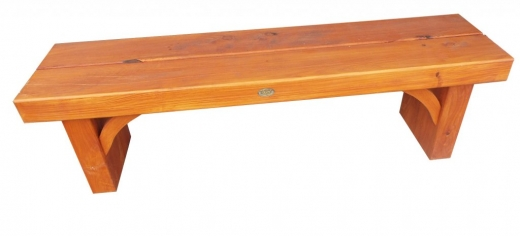 Sleeper seat 1800mm (Outdoor bench seat) - $380 Made from macrocarpa garden sleepers