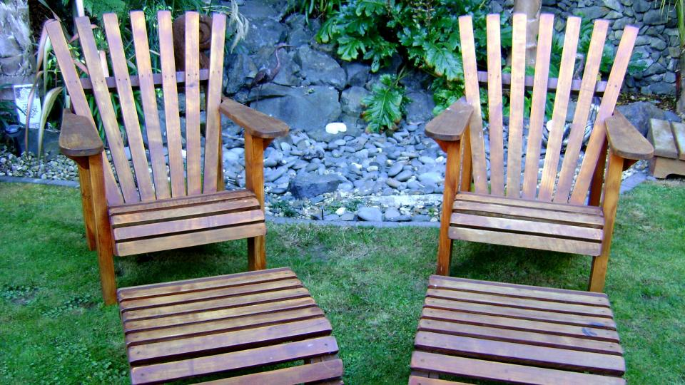 Weekend Craft: Macrocarpa Wooden Outdoor Furniture NZ Part 42